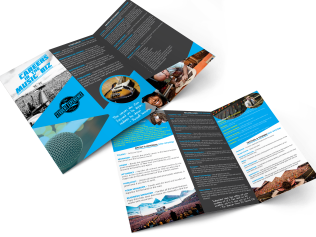 DESIGN // The Music Experience Festival Tri-Fold