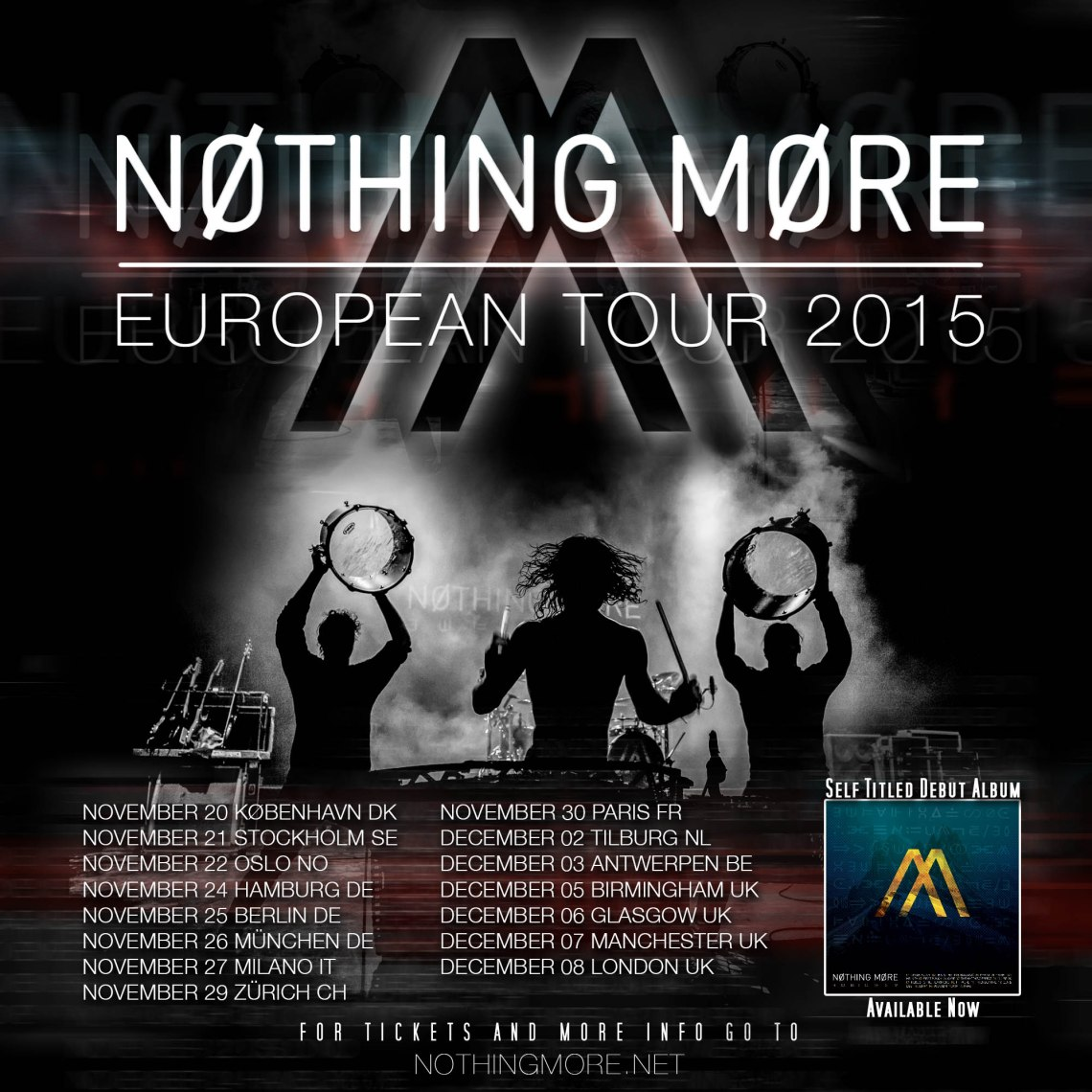 Nothing More Europe IG