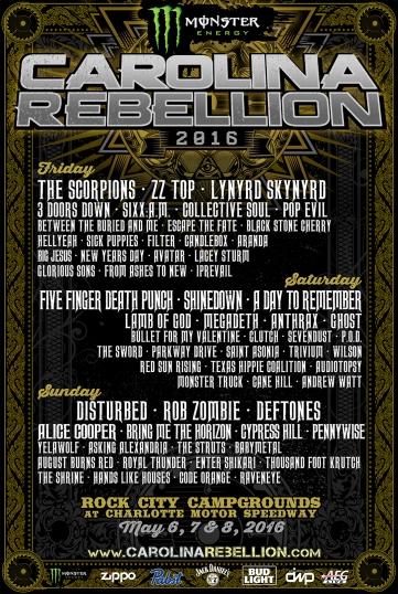 Carolina Rebellion 2016 Admat for WEB.3.15